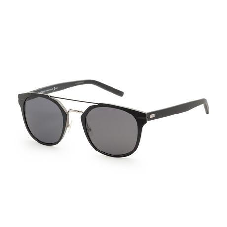 Men's AL135S-0KI2-52R0 Sunglasses // Semi Tortoise Black + Gray Blue