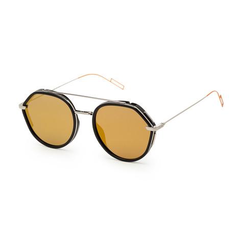 Men's 0219S-0CSA-53Y1 Sunglasses // Black Palladium + Brown Gold
