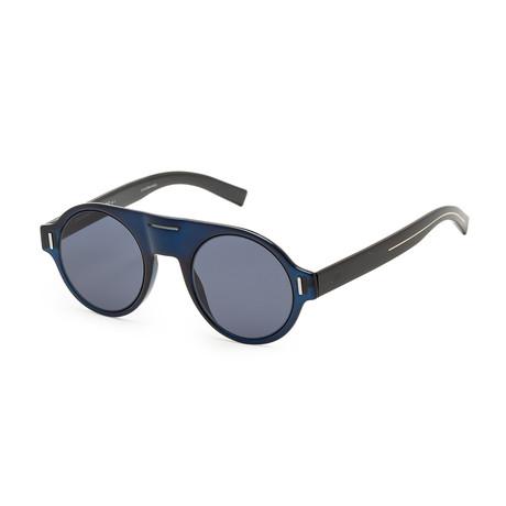Men's Fraction 2S-0PJP-470T Sunglasses // Blue + Gold