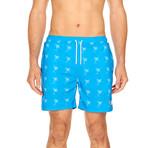Cove Swim Trunk // Blue + White (S)