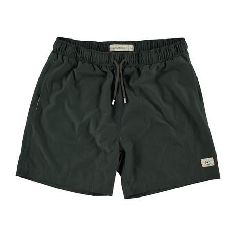 Gili Swim Trunk // Green (S)