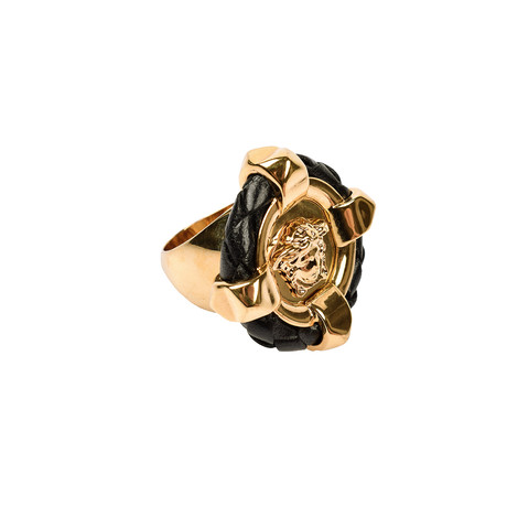 Gianni Versace // Medusa Ring V2 // Gold Tone
