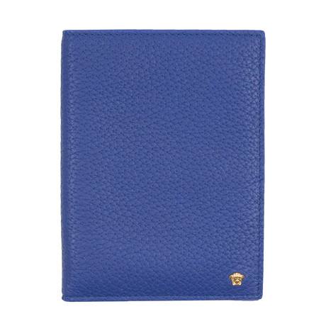 Gianni Versace // Leather Wallet // Blue