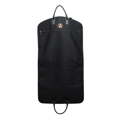 Gianni Versace // Medusa Garment Bag // Black