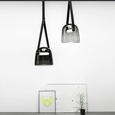 Bell Pendant Ceiling Lamp (White)