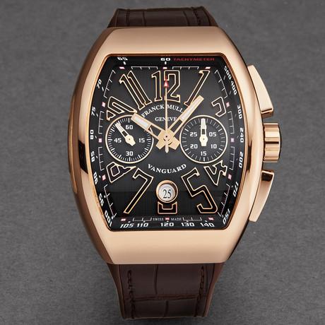 Franck Muller Vanguard Chronograph Automatic // 45CCGLDBRNGLD1 // New