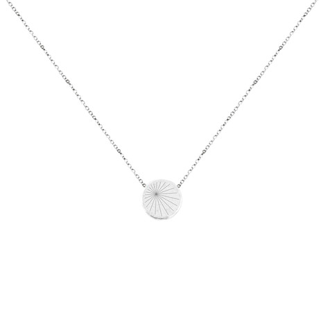 Sundial Mantra Necklace