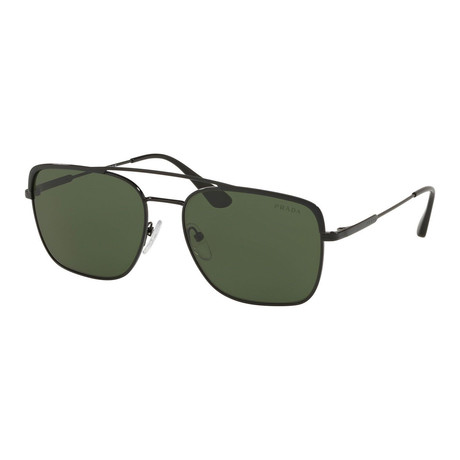 Prada // Men's 53VS 1AB1I0 Sunglasses // Green