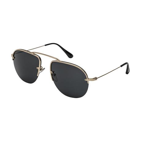 Prada // Men's 58OS ZVN5S0 Sunglasses // Gray