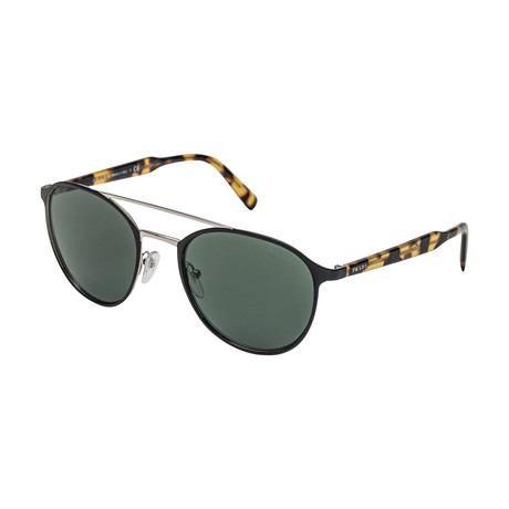 Prada // Men's 62TS 5243O1 Sunglasses // Green