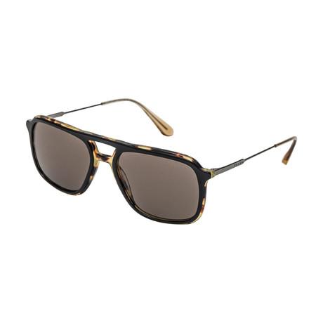 Prada // Men's 06VSF NAI5S2 Sunglasses // Brown