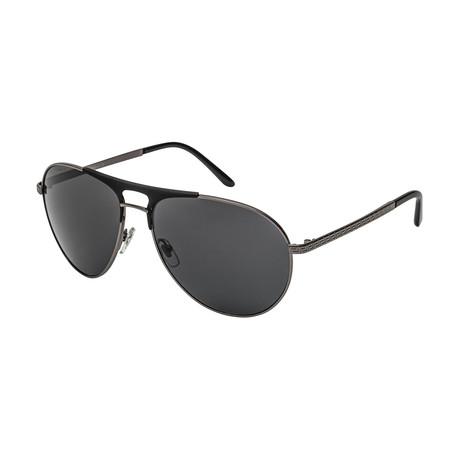 Versace // Men's 0VE2164 Sunglasses // Gunmetal + Matte Black