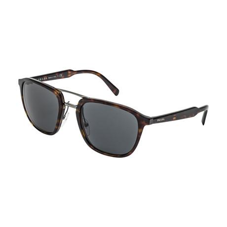 Prada // Men's 12TS 2AU5S0 Sunglasses // Gray + Havana