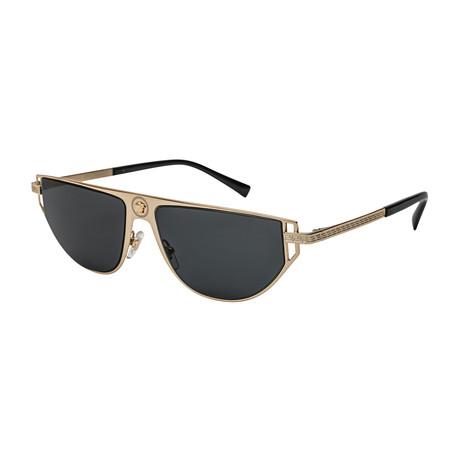 Versace // Men's 0VE2213 Sunglasses // Gold