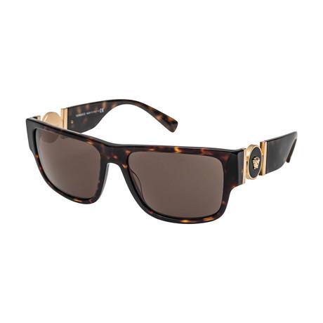 Versace // Men's 0VE4369 Sunglasses // Havana