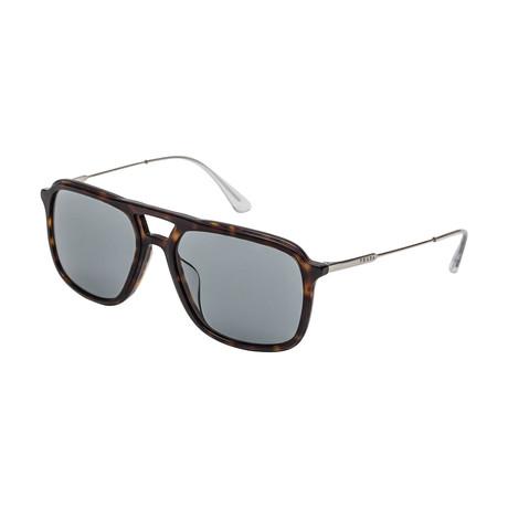 Prada // Men's 06VSF 2AU3C2  Sunglasses // Gray + Havana