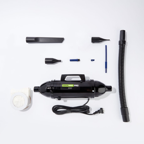 DataVac® Pro Series // Micro Cleaning Tools Computer Vacuum/Blower Duster MDV-1BA + 10 Disposable Bags