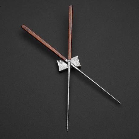 Damascus Chopsticks