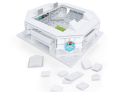 photo of Stadium Building Kit by Touch Of Modern