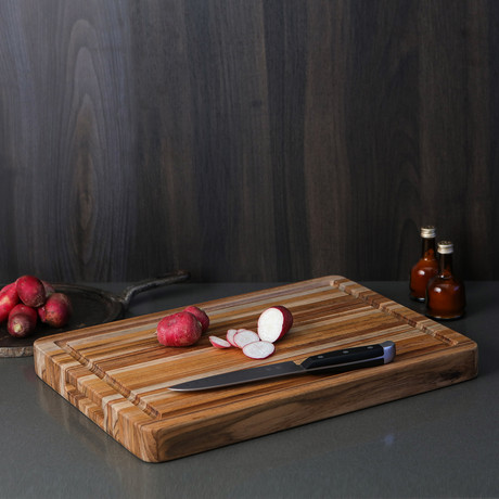 Traditional Collection // Cutting Board + Grips + Juice Grove
