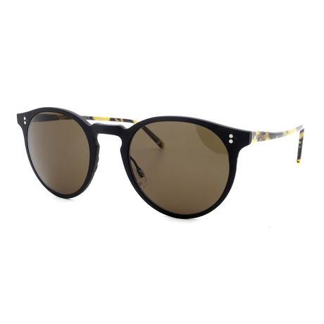 Oliver Peoples // Men's OV1208S-523271 Sunglasses // Black + Havana
