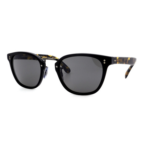 Oliver Peoples // Men's Lerner OV5369S-1627R5 Sunglasses // Matte Black