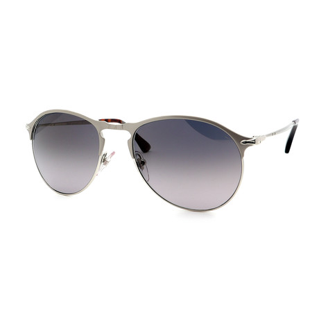 Persol // Men's PO7649S-1068M3 Sunglasses // Silver