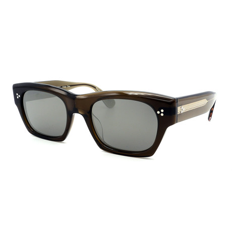 Oliver Peoples // Men's Isba OV5376S-157639 Sunglasses // Brown
