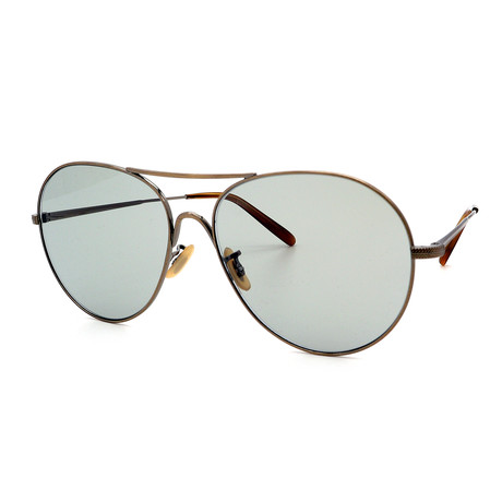 Oliver Peoples // Men's OV1218S -503952 Sunglasses // Antique + Green Wash
