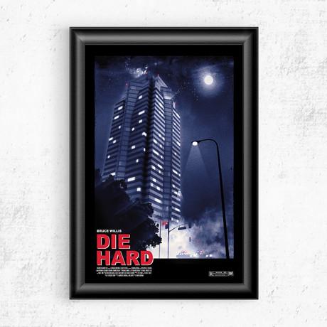 """Die Hard (16""""W x 20""""H)"""