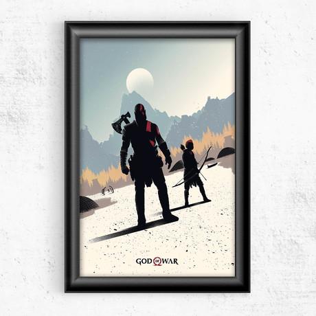 """God of War (16""""W x 20""""H)"""