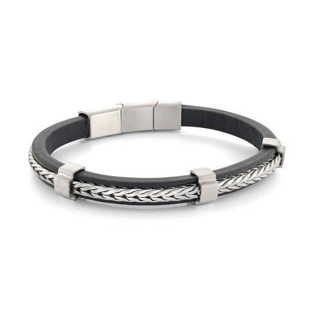 Franco Link Bracelet // Blue