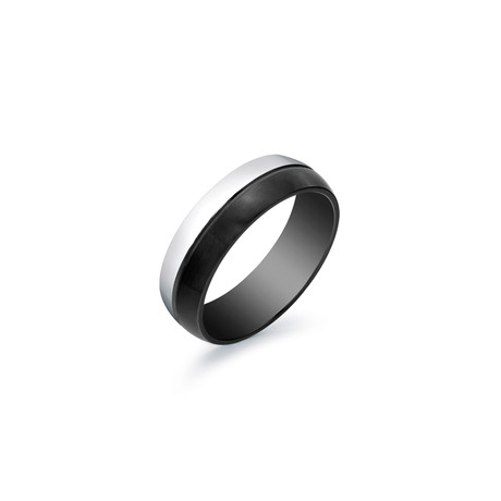 Tiffany Ring // Black // 7mm (5)