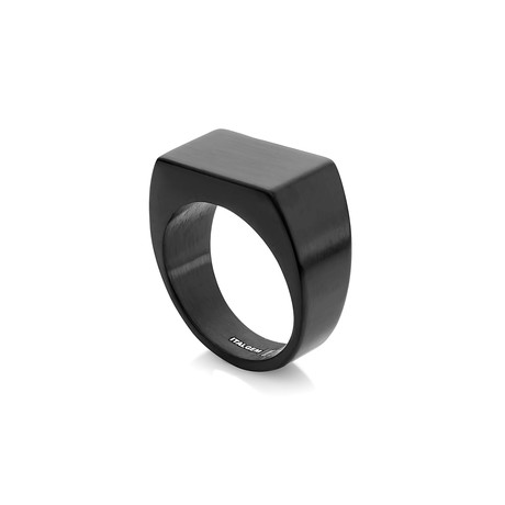 Signet Ring // Black (7)