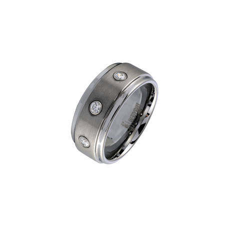 Tungsten Carbide Ring // 9mm (5)