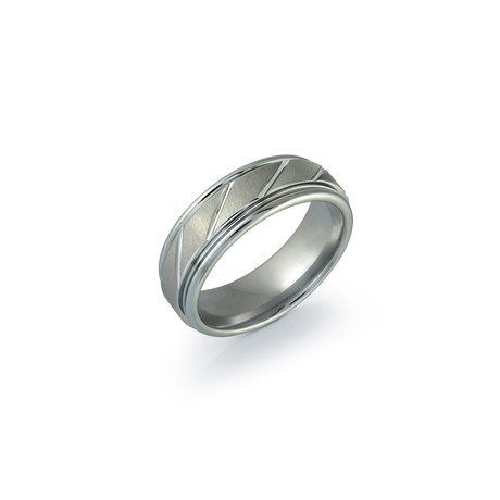 Diamond Cut Ring // 7mm (5)