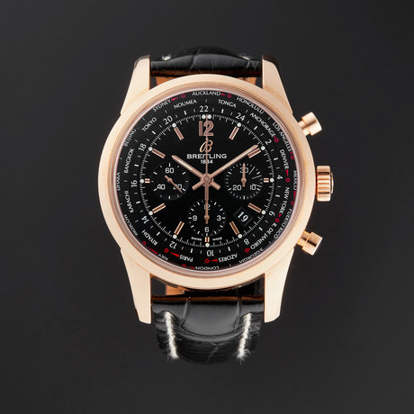Breitling Transocean Chronograph Automatic // RB0510U5/BC39 // New