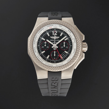 Breitling Bentley GMT Chronograph Automatic // EB043335/BD78 // New