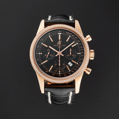 Breitling Transocean Chronograph Automatic // RB015253/BB16 // New