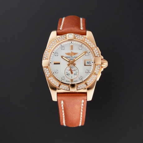 Breitling Ladies Galactic Automatic // H3733053/A725 // New
