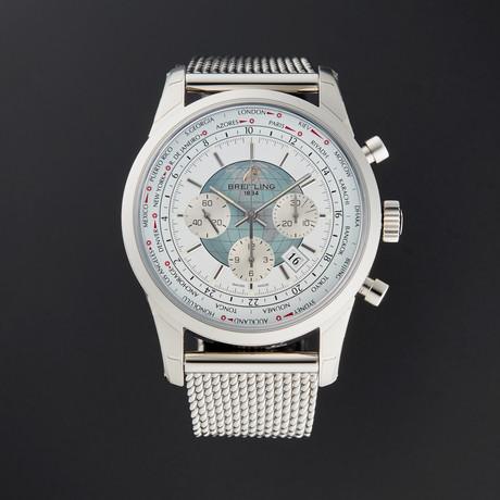 Breitling Transocean Unitime Chronograph Automatic // AB0510U0/A732 // New
