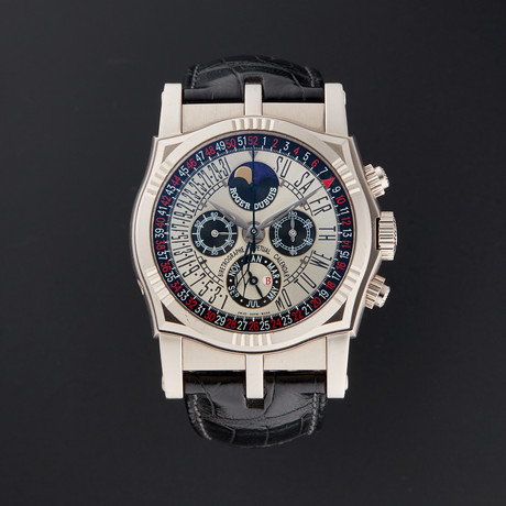 Roger Dubuis Perpetual Calendar Chronograph Manual Wind // SY43 5610 0 // Pre-Owned