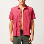 Cabana Shirt // Squiggle Stripe (M)