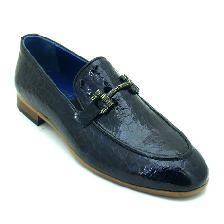 Borden Loafers // Dark Blue (Euro: 39)