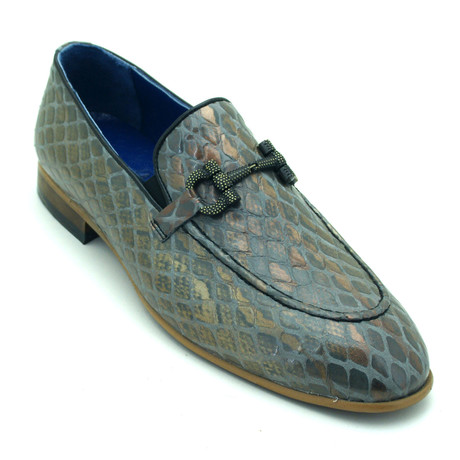 Putnam Loafers // Blue + Green (Euro: 39)