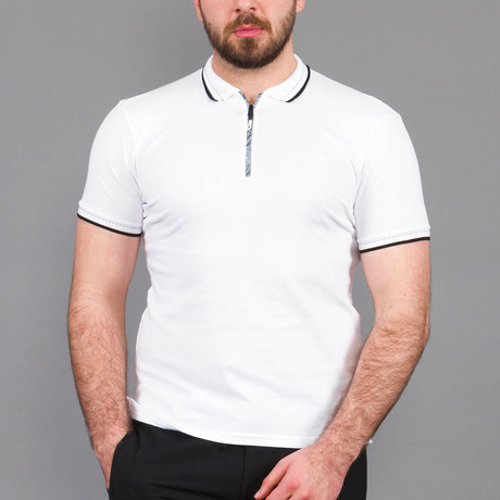 Zach Polo Shirt // White (S)