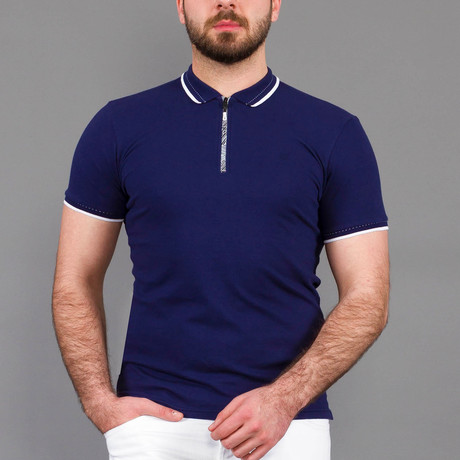 Logan Polo Shirt // Dark Blue (S)