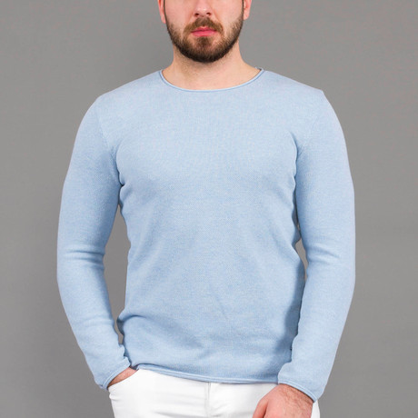 Toby Tricot Sweater // Light Blue (S)