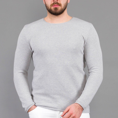 Neil Tricot Sweater // Light Gray (S)