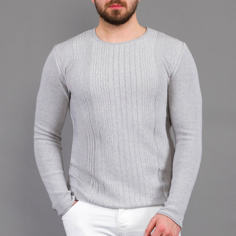 Gerald Tricot Sweater // Gray (S)